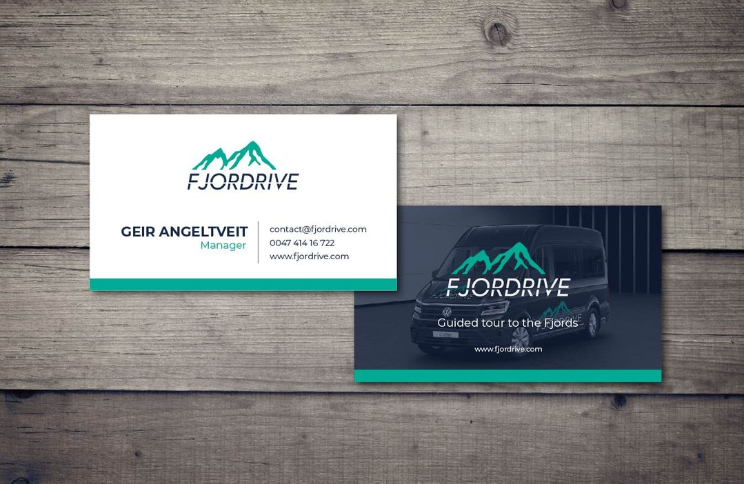 Fjordrive - Businesscards